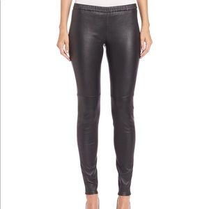 63b38d6ab04f9 Women Michael Kors Faux Leather Leggings on Poshmark